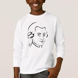 Wolfgang Amadeus Mozart Kid's Long Sleeve T-Shirt