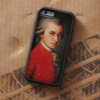 Wolfgang Amadeus Mozart portrait Tough Xtreme iPhone 6 Case