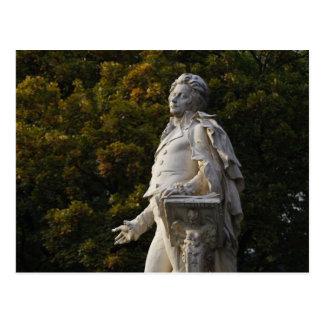 Wolfgang Amadeus Mozart Postcard