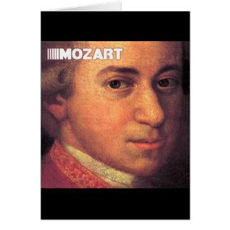 Wolfgang Amadeus Mozart Stuff Card