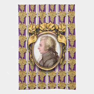 Wolfgang Amadeus Mozart Tea Towel