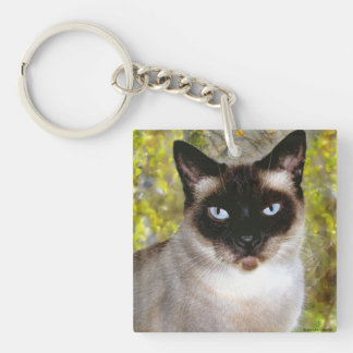 """""""Wolfgang Charles, Esquire"""" Keychain"""