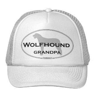 Wolfhound Grandpa Trucker Hats