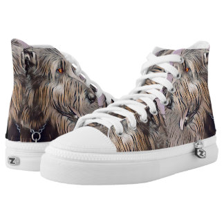 Wolfhound Profile in Pastel High Tops
