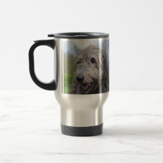 Wolfhound Stainless Steel Travel Mug