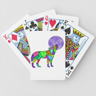 wolfie bicycle playing cards