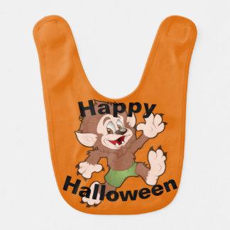 Wolfie Halloween Bib