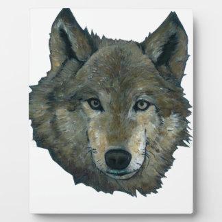 Wolfie Plaque