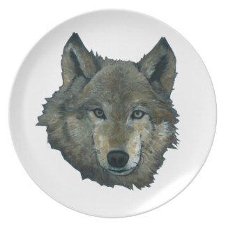 Wolfie Plate