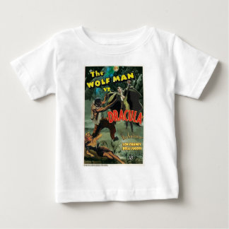 WOLFMAN VS DRACULA by Philip J. Riley Baby T-Shirt