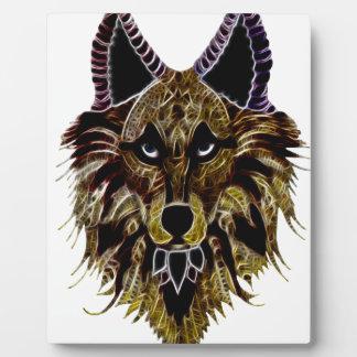 Wolf's Head Plaque