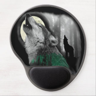 Wolf's Song Gel Mouse Pad