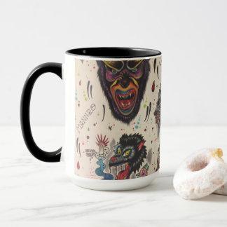 wolfy morning coffee mug