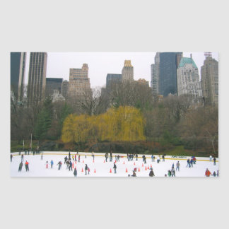 Wollman Rink Central Park NYC Ice Skating Stickers