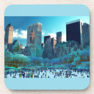Wollmen Rink Ice Skaters, New York City, A Fantasy Coaster
