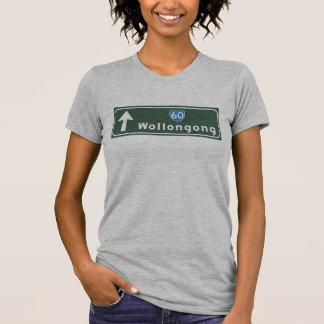 Wollongong, Australia Road Sign T-Shirt