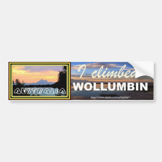 wollumbin bumper sticker