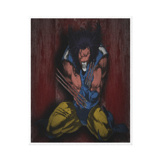 Wolverine Fanart Gallery Wrapped Canvas