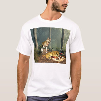 Wolves at Play T-Shirt