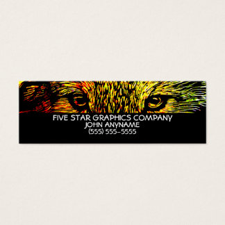 Wolves Eyes Business Card