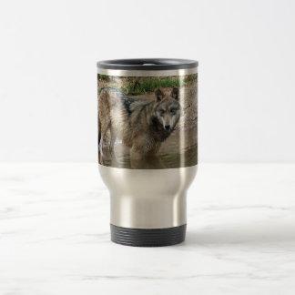 Wolves Grey Wolf Travel mug