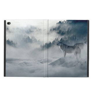 Wolves in Snowy Winter Landscape Powis iPad Air 2 Case