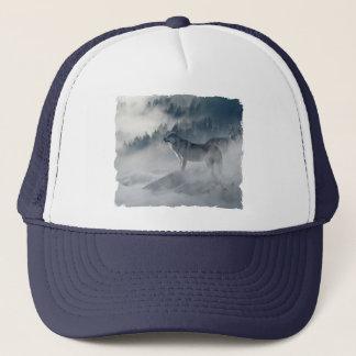 Wolves In Winter Trucker Hat