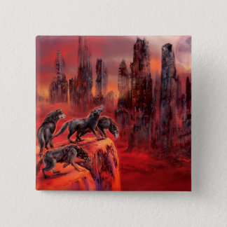 Wolves of Future Past 15 Cm Square Badge