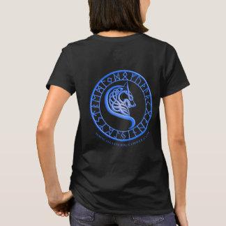 Wolves of Hemlock Hollow Blue shirt