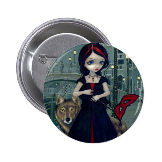 Wolves of Venice Button