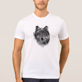 Wolves Wolf Snow Winter Snow Forest Park T Shirts