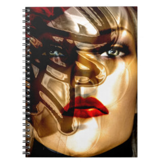 WOMAN 603086 FASHION BEAUTY MODEL PAINTING CLASSIC NOTE BOOKS