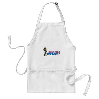 Woman Air Force Aprons