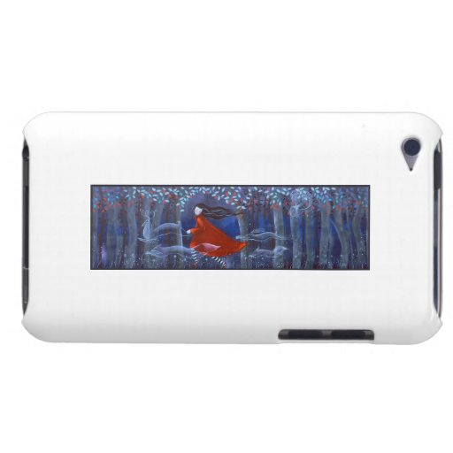 Woman and Forest Animal Spirits iPod Touch Case