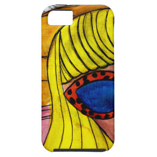 Woman and UFO iPhone 5 Covers