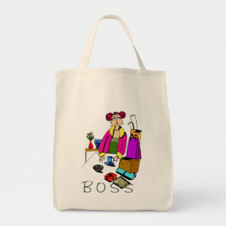Woman Boss Office Tote Bag