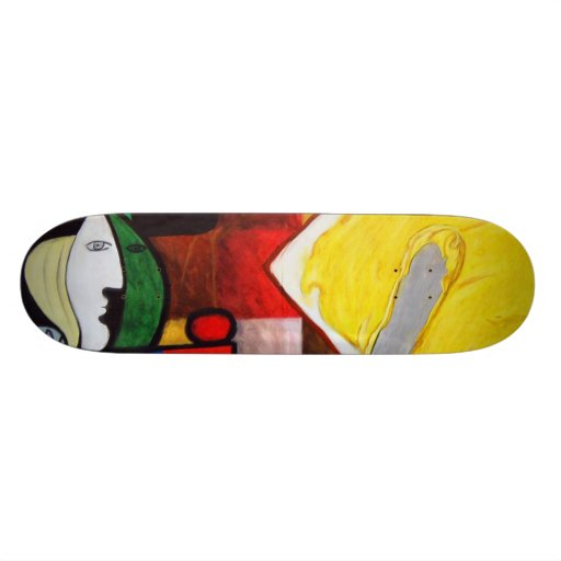 """""""Woman Butters Toast"""" Skateboard"""