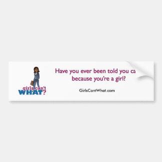 Woman CEO Bumper Sticker