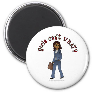 Woman CEO in Business Suit Fridge Magnets