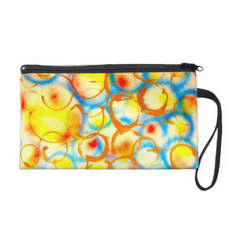 woman compact bag designed by Artist Metro One Wristlet Purses
