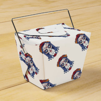 Woman Day of the Dead Favour Box