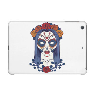 Woman Day of the Dead iPad Mini Retina Cover