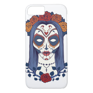 Woman Day of the Dead iPhone 8/7 Case