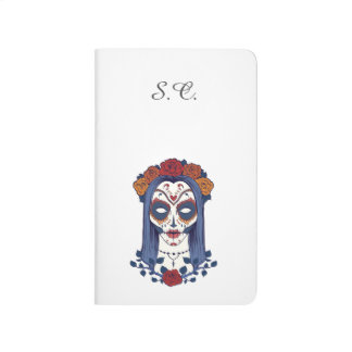 Woman Day of the Dead Journal