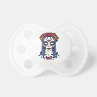 Woman Day of the Dead Pacifiers