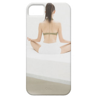 Woman doing yoga barely there iPhone 5 case