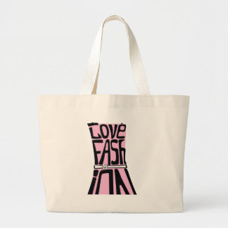 Woman dress from words I love fashion Canvas Bags