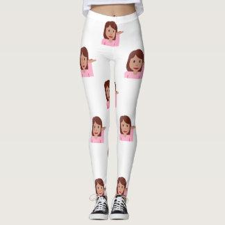 woman emoji leggings