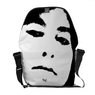 woman face commuter bags