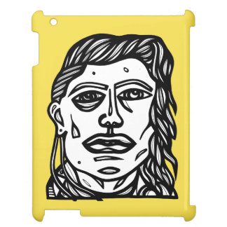 """Woman Face"" iPad Case"